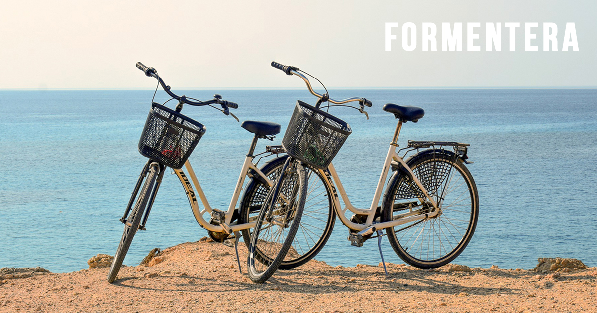 1 DAY - 2 BICYCLES RENT in FORMENTERA