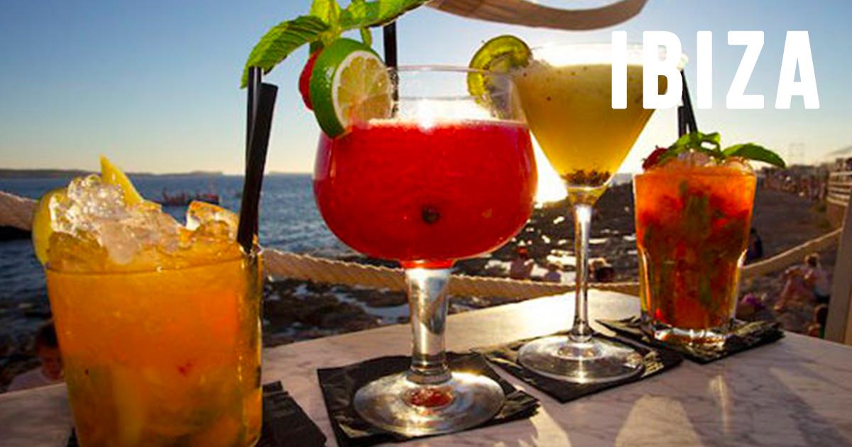 3 DRINKS AL PUERTO DE IBIZA