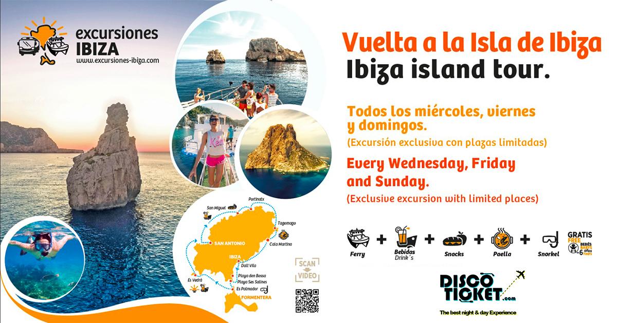 EXCURSION - VUELTA A LA ISLA - (IBIZA / FORMENTERA)