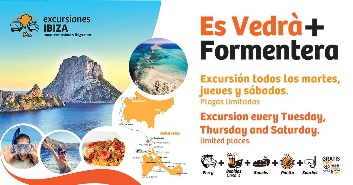 EXCURSION ES VEDRA + FORMENTERA - ADULT TICKET