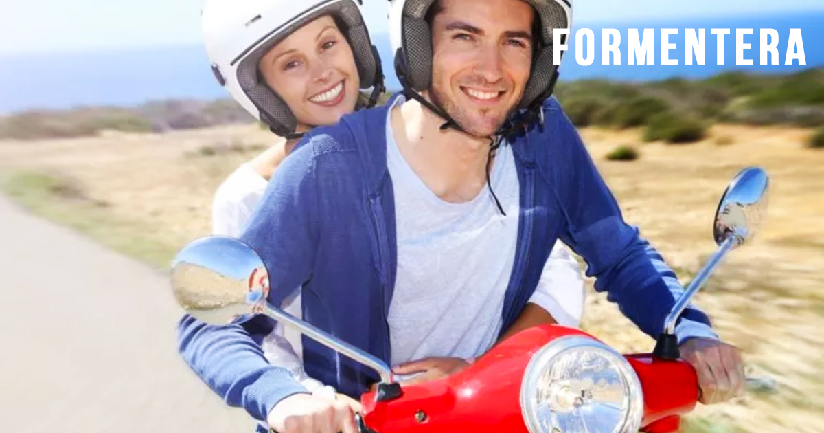 N. 1 DAY RENT - SCOOTER 125CC IN FORMENTERA - insurance 100%